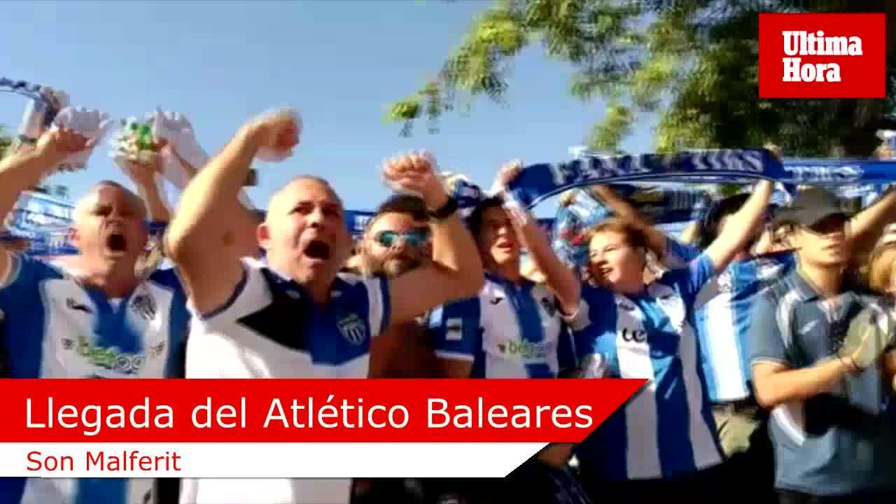 Atlético Baleares y Mallorca ya están en Son Malferit