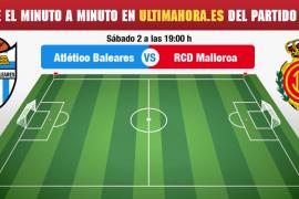 Atlético Baleares-Mallorca en directo