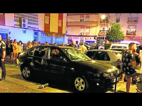 Una pelea que degeneró en un atropello suscitó alarma por un posible ataque terrorista en Huelva