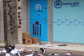 Detenido un militante de Arran por la protesta contra la sede del PP en Barcelona