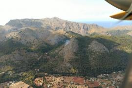 Controlado el incendio declarado en la zona de Molins de Llinàs en Pollença