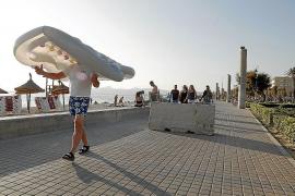 La Policía blinda la Playa de Palma para evitar atentados