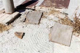 Degradación de la zona Punta sa Pedrera, en Port des Torrent