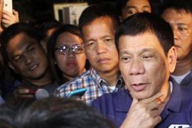 Duterte 'coloca' en un ministerio al hermano de su yerno