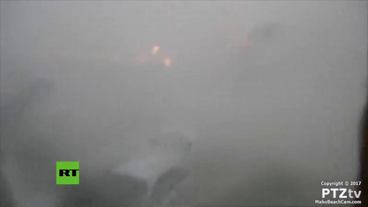 Irma destruye la práctica totalidad de la isla de San Martín
