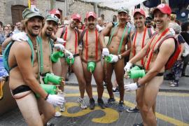 Bunyola se desnuda en su 'correguda en roba interior' 2017