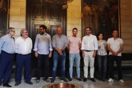 Acuerdo entre Ayuntamiento de Palma y Atlético Baleares para reformar el Estadi Balear