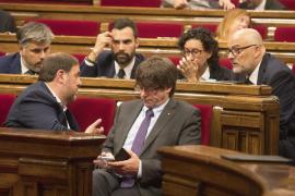 La Fiscalía se querellará contra Puigdemont y el Govern por el 1-O