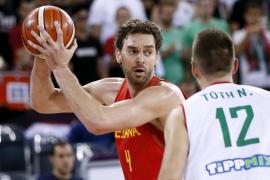 España derrota a Hungría y llega invicta a octavos del Eurobasket