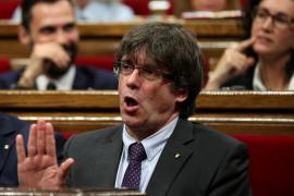 Puigdemont: «España no es un régimen democrático y contestaremos con las calles llenas»