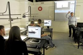 El laboratorio de animación de la UIB se abre al público con una exposición permanente