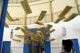 Un taller creativo recupera la memoria de la antigua prisión de Palma a través del arte
