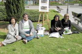 El Gremi d'Editors lanza 'Llibres fora!' en Palma para fomentar la lectura