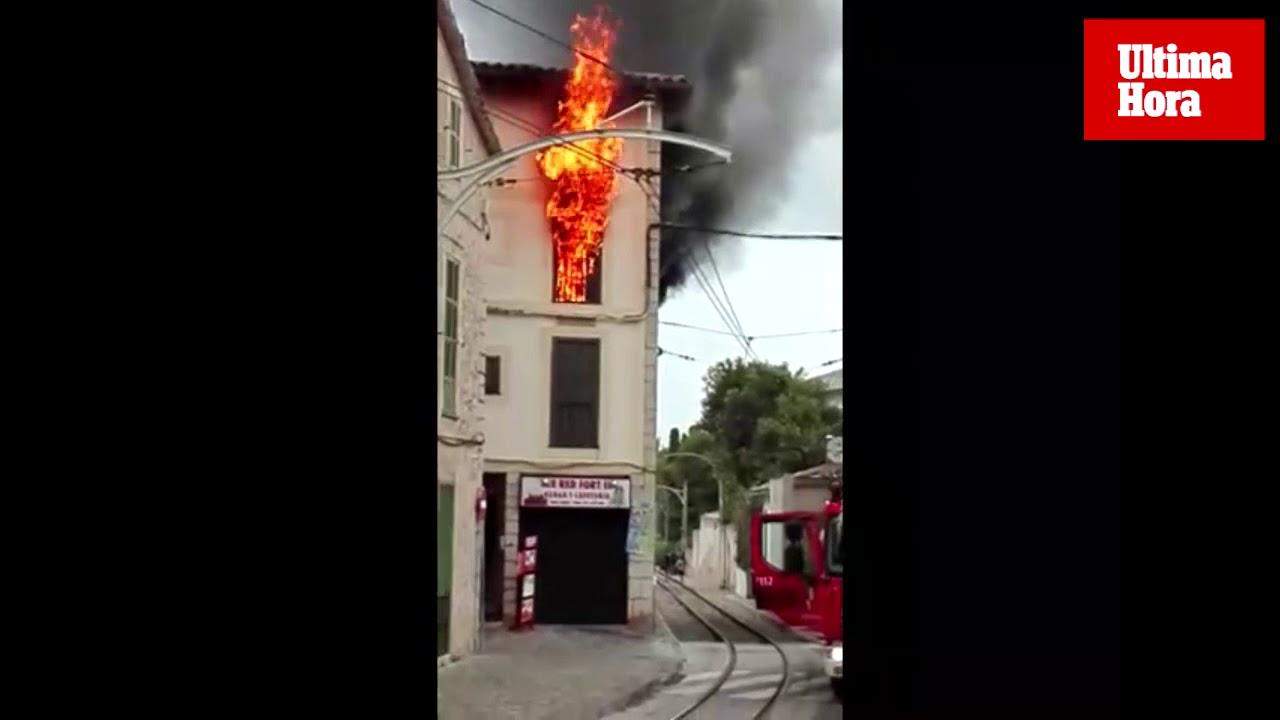 Condenado a 5 años de cárcel el responsable de incendiar la vivienda de su pareja en Sóller