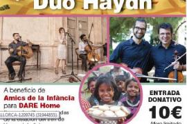 Concierto de Daltmurada y el Dúo Haydn a beneficio de Amics de la Infància