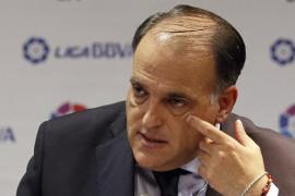 Tebas: «Si Catalunya finalmente se independiza los clubes catalanes no jugarían la Liga española»