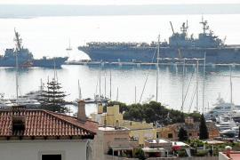 La Sexta Flota vuelve a Palma con 2.000 marineros en dos unidades