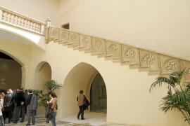 Can Oleo, edificio del gótico civil, muestra su nueva cara