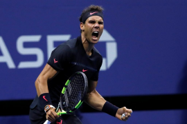 Nadal arrolla a Del Potro y jugará su cuarta final del Abierto de Estados Unidos
