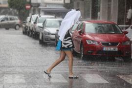 Este domingo, lluvias fuertes y caída de las temperaturas en Mallorca