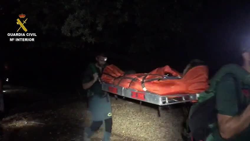 Rescatan en el Torrent de Pareis a un joven herido en una pierna