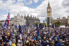 Miles de personas se manifiestas en Londres para que el Reino Unido permanezca en la Unión Europea
