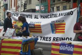 Varias asociaciones denuncian la «catalanización» de Aragón, Valencia y Baleares