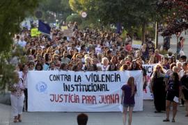 Miles de personas se manifiestan en más de veinte ciudades, entre ellas Palma, en apoyo de Juana Rivas