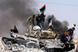 Victoria de los rebeldes en Libia