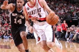 Las pérdidas de los Spurs ayudaron al triunfo de los Blazers de Rudy