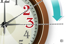 La próxima madrugada los relojes se adelantarán una hora
