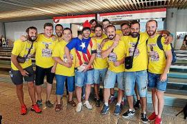 Expulsan a unos jóvenes del estadio de fútbol del Cádiz tras mostrar una estelada