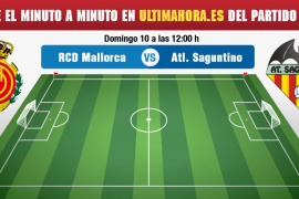 Mallorca-Atlético Saguntino en directo