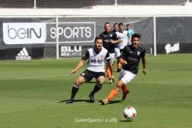 El Atlético Baleares suma una importante victoria ante el Valencia Mestalla