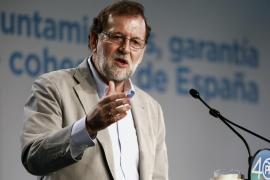Rajoy pide a Cataluña una Diada de «libertad, convivencia y respeto» para todos