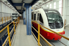 El metro de Palma registra el mayor aumento de pasajeros del país