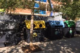 Emaya aborda la renovación de contenedores en los barrios más poblados de Palma