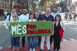MÉS per Mallorca participa en la Diada de Cataluña