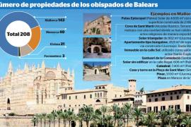 Los bienes de la Iglesia en Baleares: templos, casas, solares y un 'bungalow'