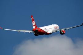Air Berlin cancela vuelos tras declararse enfermos sus pilotos