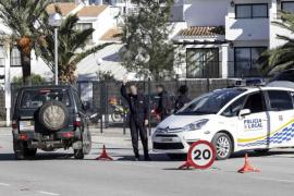 Detenida una conductora ebria que agredió a policías locales de Santa Eulària