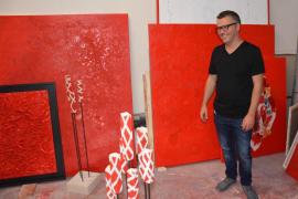 Guillem Vicens se convierte en el primer mallorquín en exponer en la galería Sailer de Santanyí