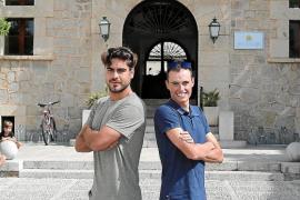 Abdón Prats y Enric Mas, gigantes de Artà