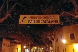 Esquerra de Alaró insta a la policía a hallar a los que robaron la pancarta de apoyo al referéndum catalán