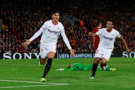 El Sevilla sale vivo de Anfield y arranca un empate ante el Liverpool