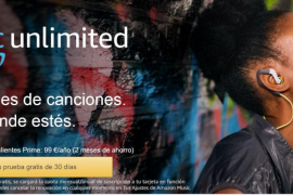 Amazon lanza en España su servicio de música en 'streaming'
