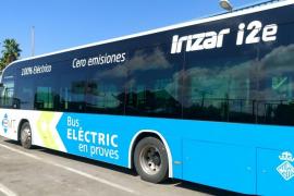 La EMT probará hasta el 5 de octubre un autobús 100% eléctrico