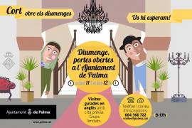 El Ajuntament de Palma retoma las visitas guiadas al edificio de Cort desde este domingo