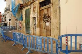 El centro de Palma tiene una decena de edificios declarados en ruina