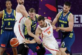 España pierde ante Eslovenia y luchará por la medalla de bronce